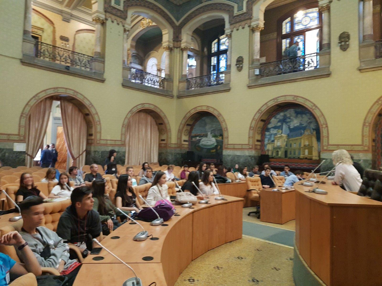 Visite à la mairie de Craiova