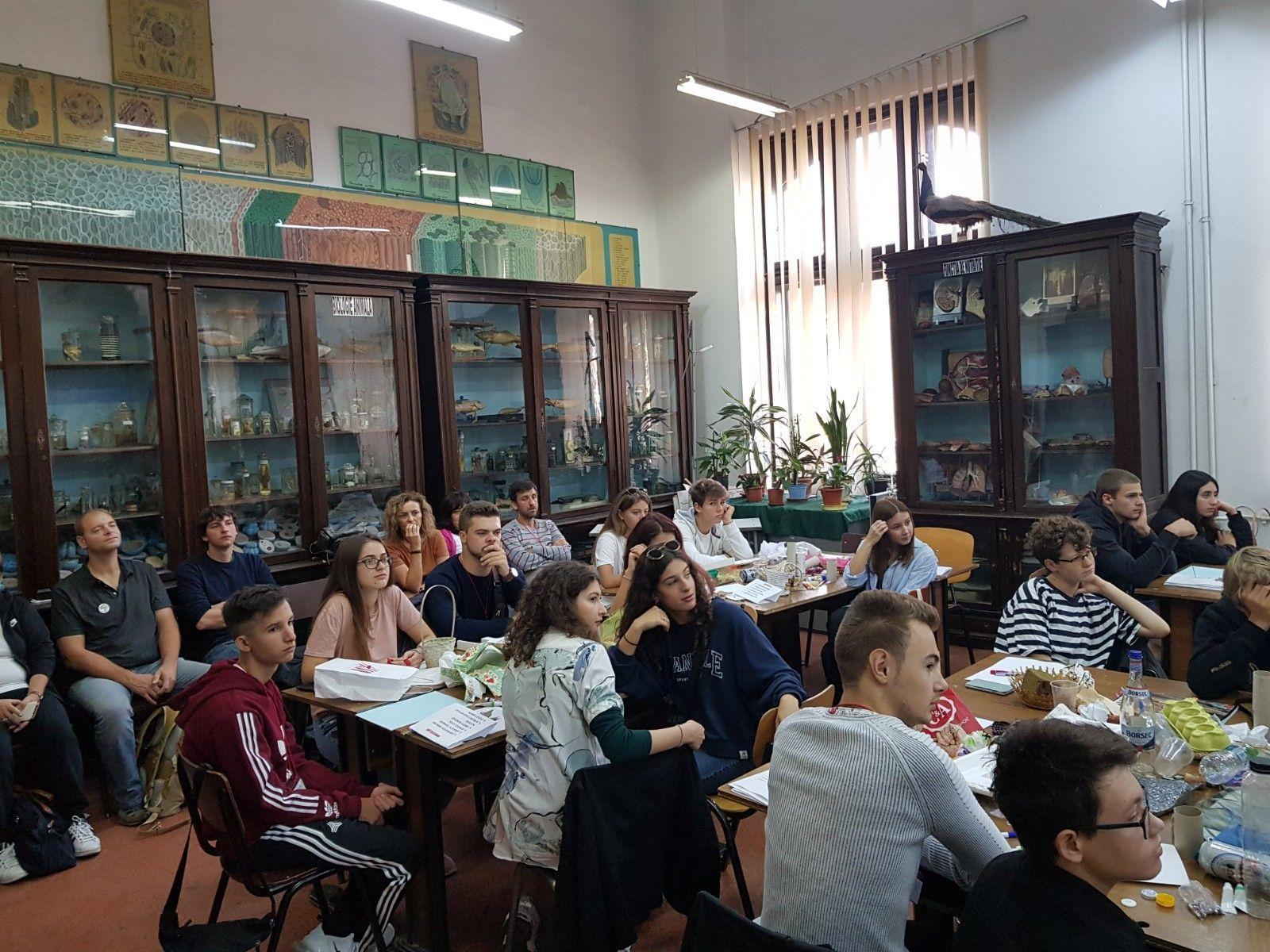 Atelier de recyclage créatif (élèves)