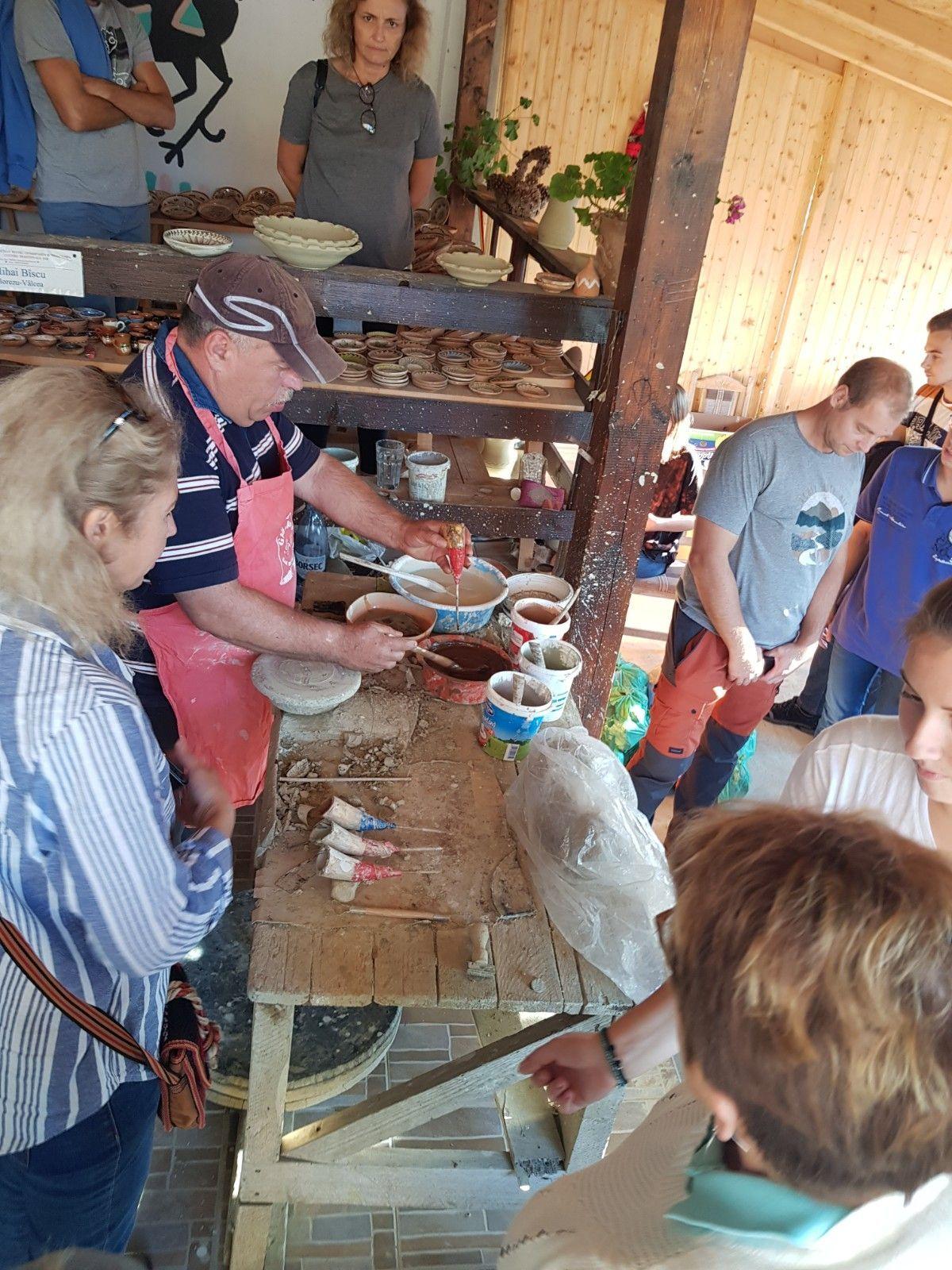 Ateliers de poterie  à Horezu